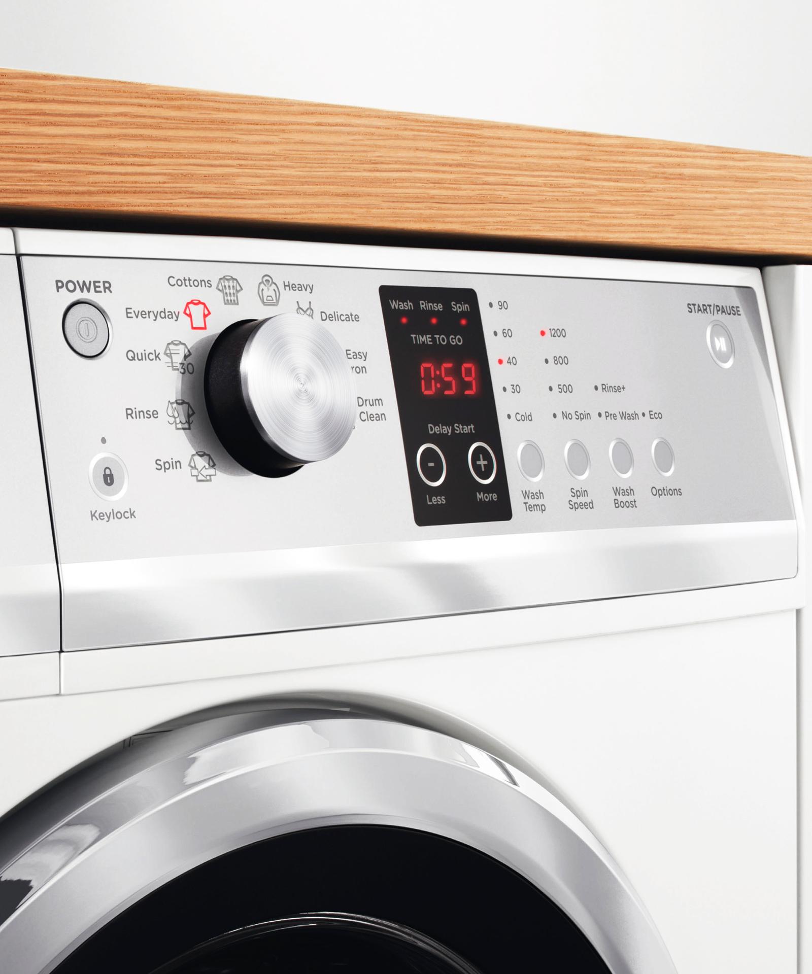 WH7560J3 - Front Loader Washing Machine 7 5kg QuickSmart