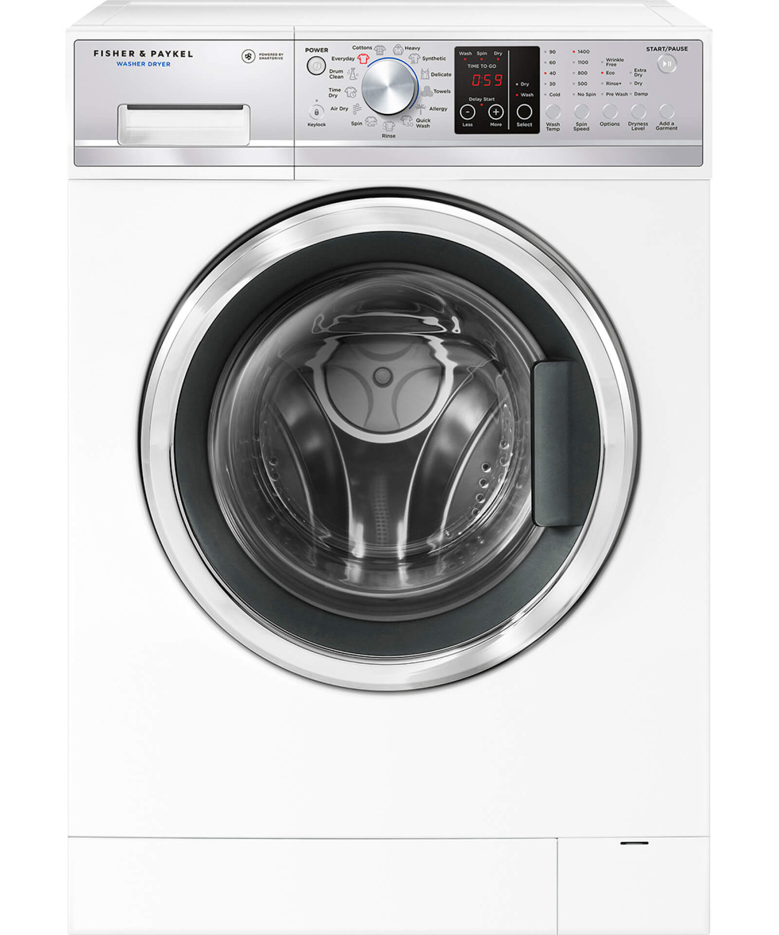 wd8560f1 front load washer dryer combo fisher and paykel au. Black Bedroom Furniture Sets. Home Design Ideas