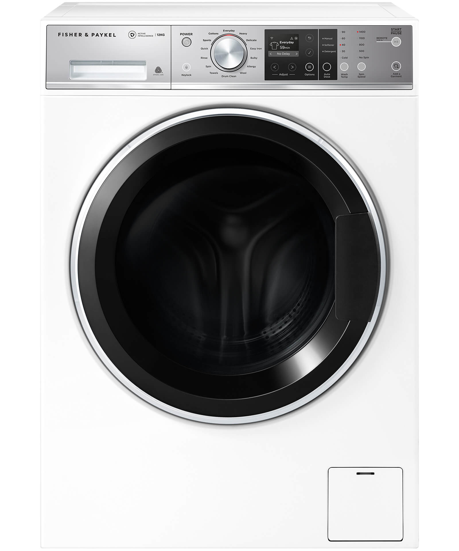 WH1260F1 - Front Loader Washing Machine 12kg ActiveIntelligence™ - 92238
