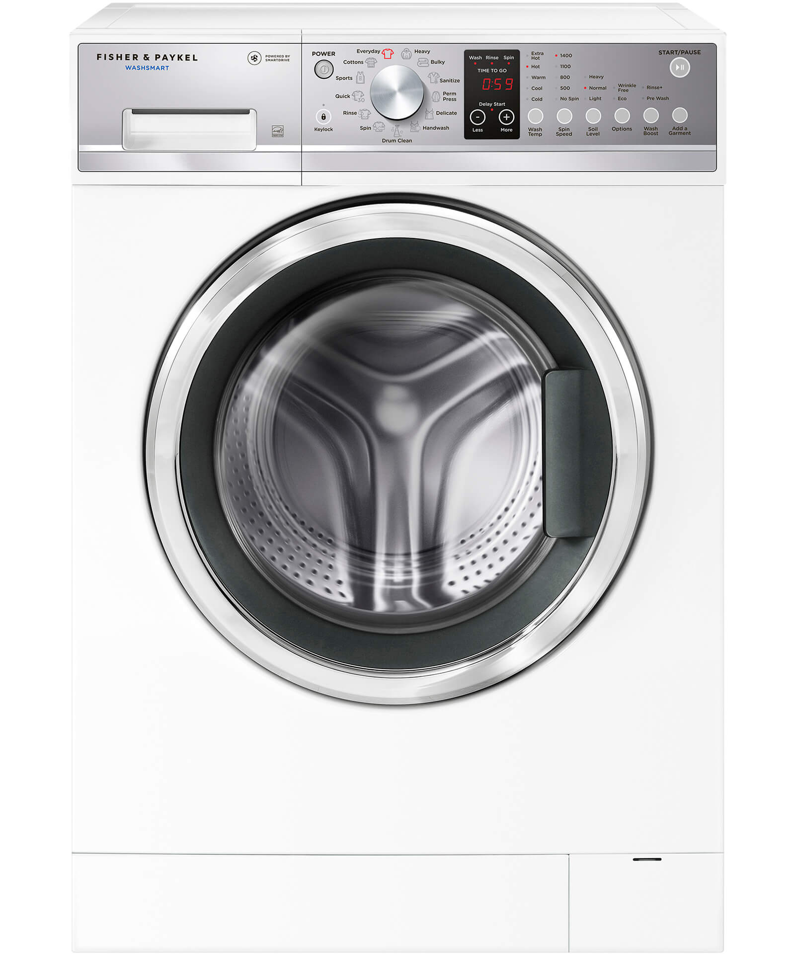 WH2424P1 - WashSmart™ Front Load Washer - 96236