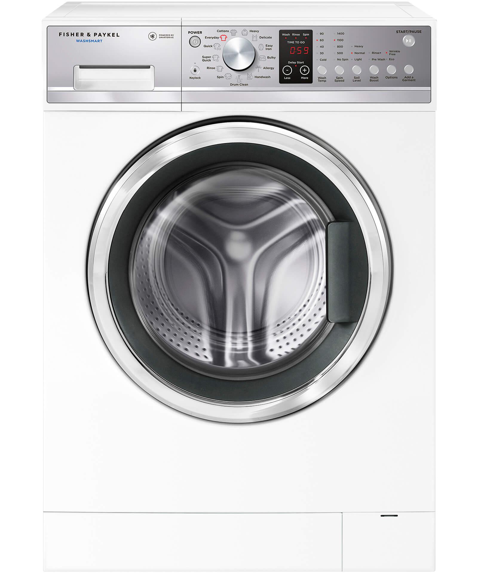 Wh7560p2 Front Loader Washing Machine 75kg Washsmart Fisher