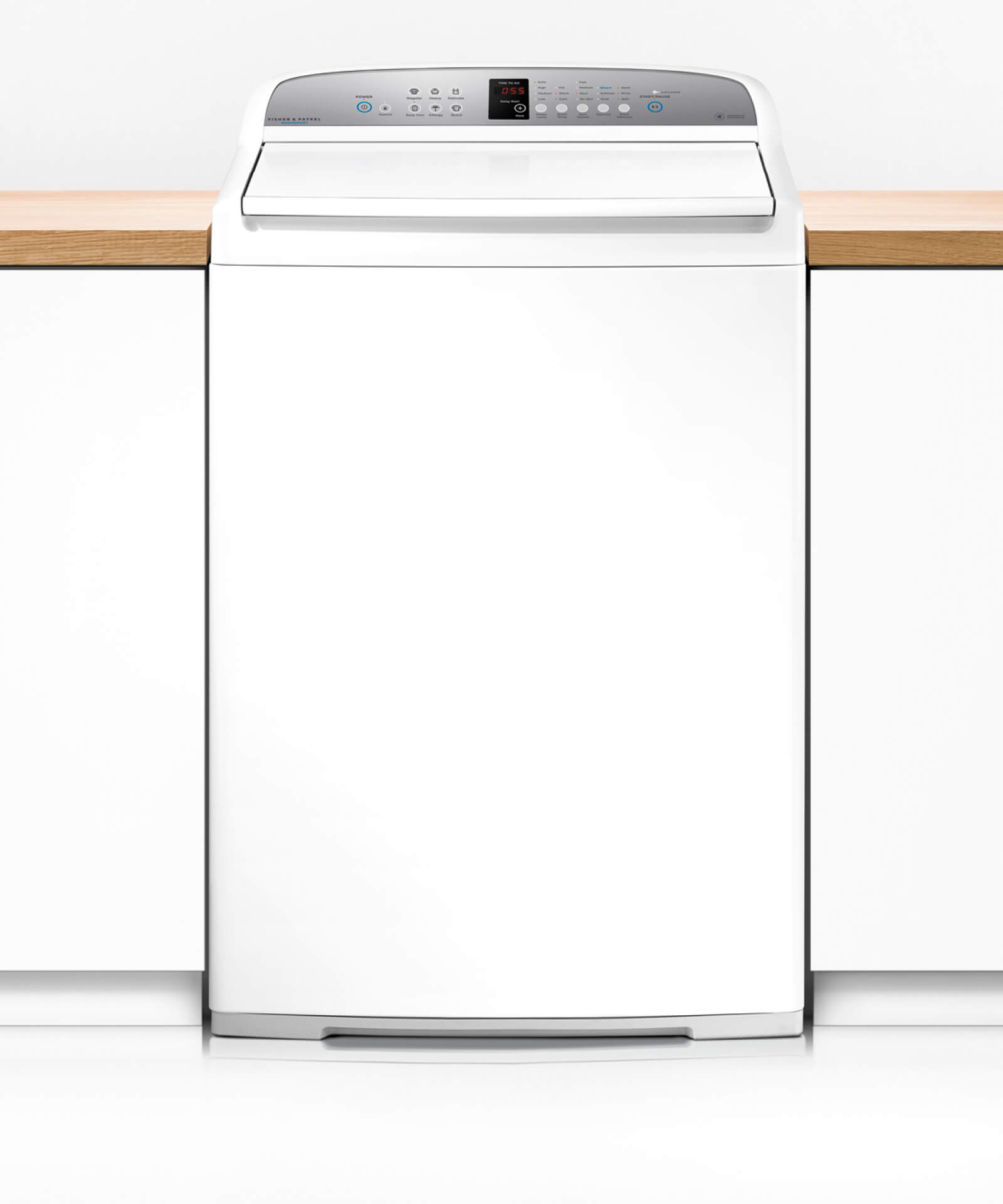 how to clean fisher and paykel washsmart washing machine
