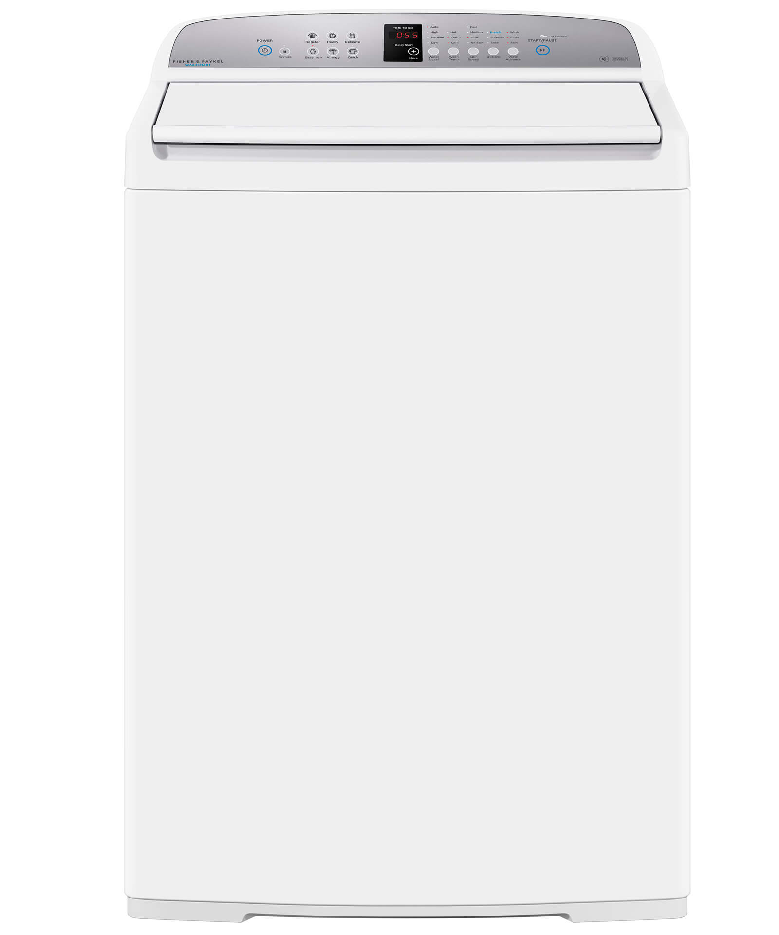 Wa3927g1 Fisher Amp Paykel 22lb Washsmart Top Load Washer