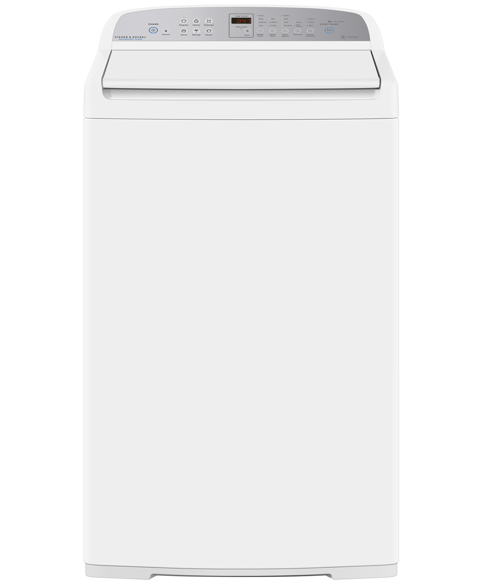 Wa8560g1 8 5kg Top Loader Washing Machine Fisher