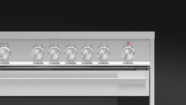 Contemporary Style Stainless Steel Range Oven.