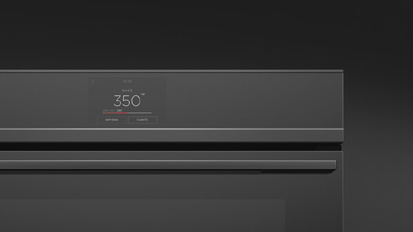 Black Minimal Built-in Oven