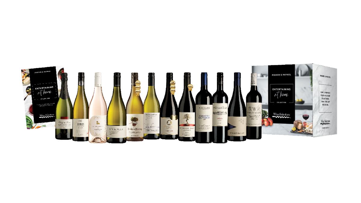 Wine Selectors Bonus Gift Pack of 12 Premium Wines.