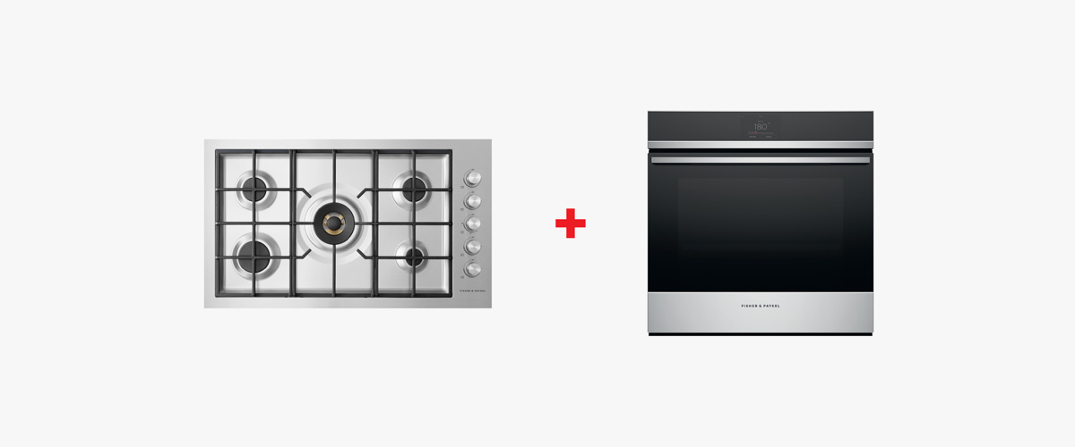 Buy a Built-in Oven and Cooktop Combo