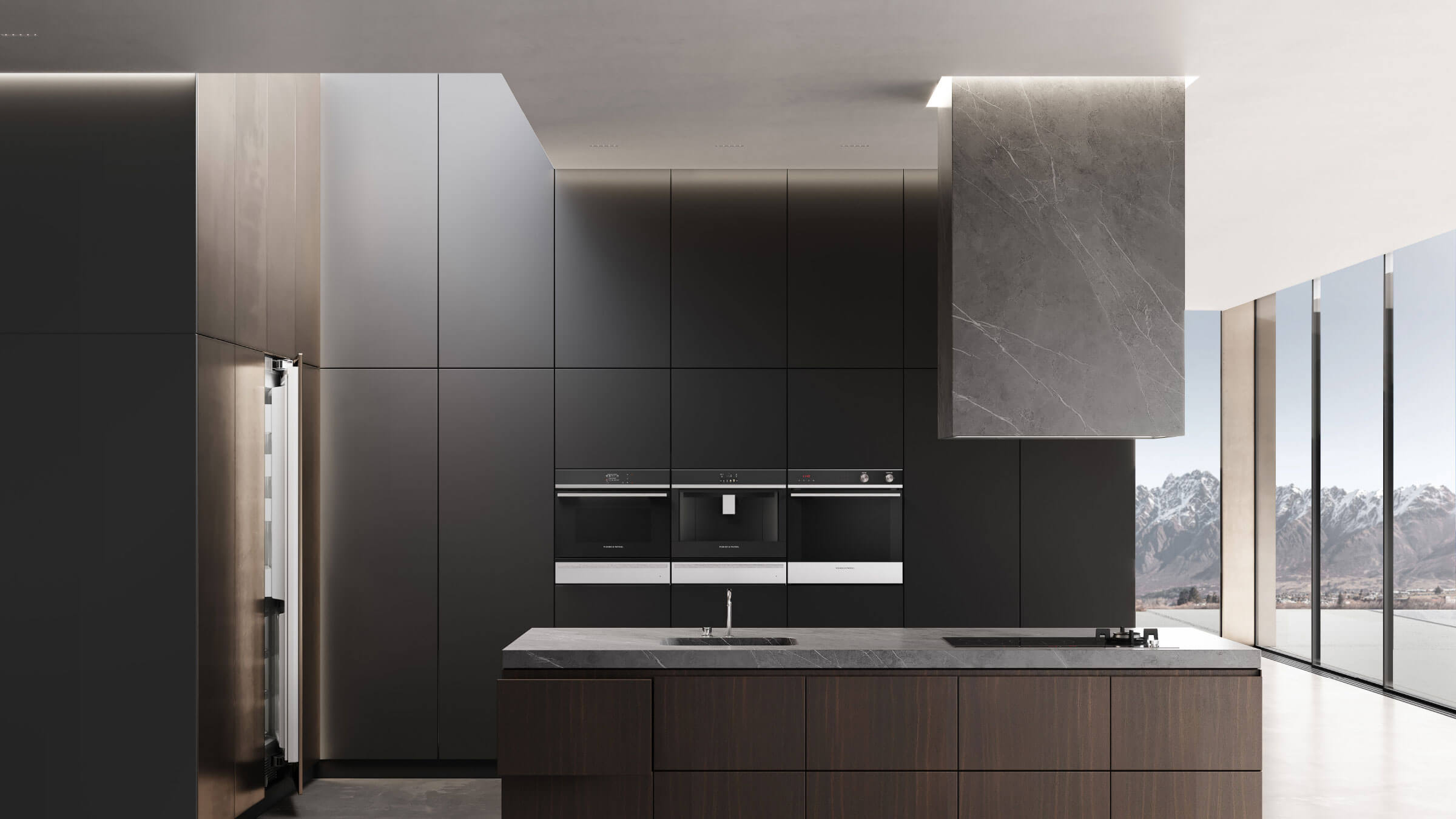 Contemporary Appliances Kitchen Example