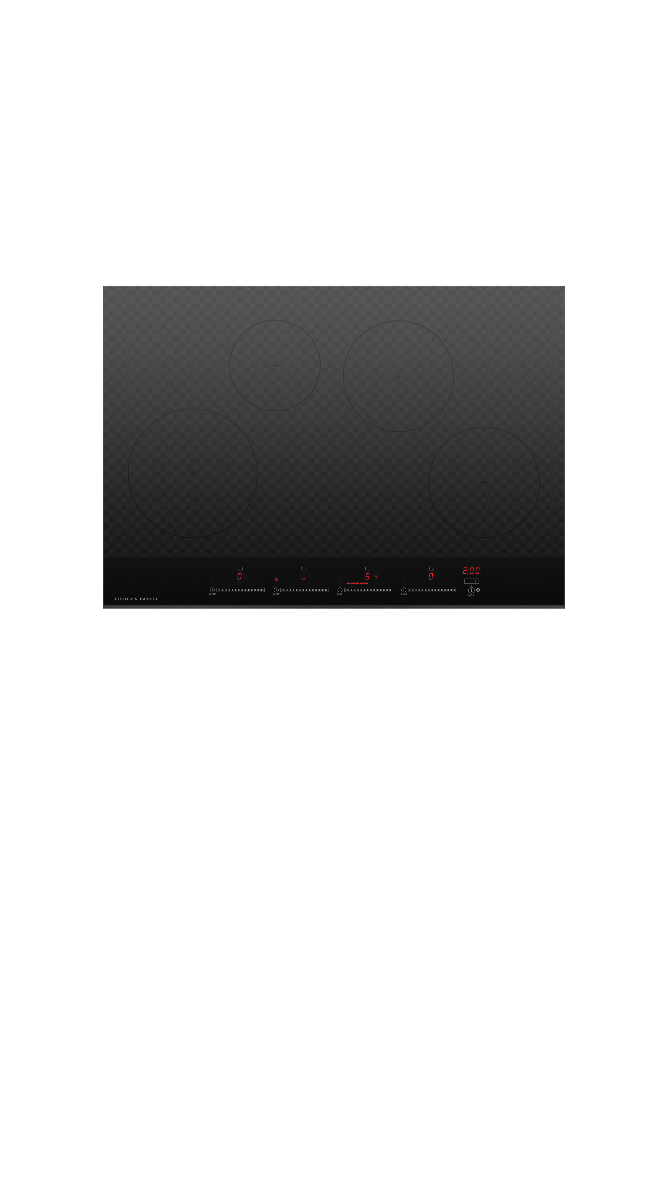 """Fisher and Paykel Induction Cooktop, 30"""", 4 Zones"""