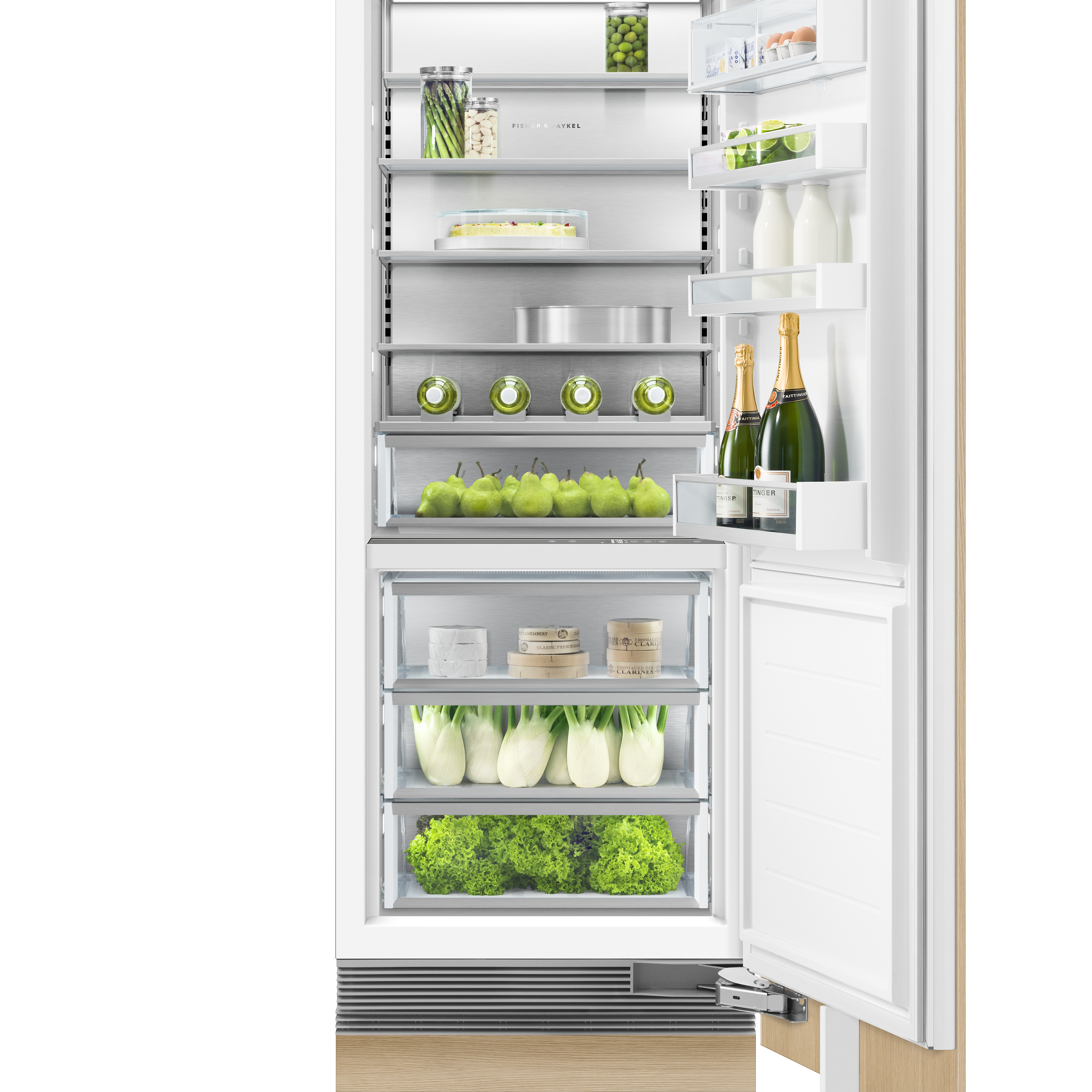 """Fisher and Paykel Integrated Column Refrigerator, 30"""""""