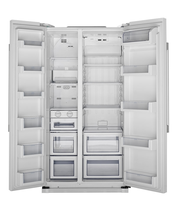 side by side refrigerator hsbs582aw by haier appliances nz new zealand. Black Bedroom Furniture Sets. Home Design Ideas