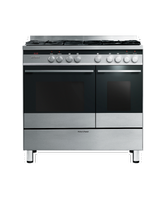 OR90L7DBGFX1 - 90cm Freestanding Dual Fuel Cooker - 89467