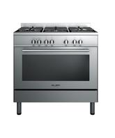 Ranges and Cookers Brushed Stainless Steel 898 mm wide                              - model number  OR90SCBGFX2 Free Standing Range,product number 85228