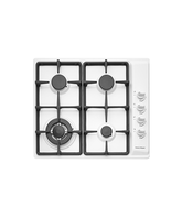CG604CWFW1 - 60cm Gas on Steel Cooktop                                                                            - 80452