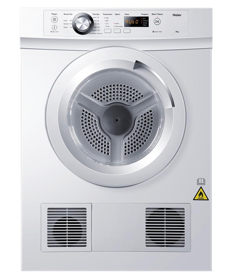 Sensor Vented Dryer Hdv50e1 By Haier Appliances Au Australia